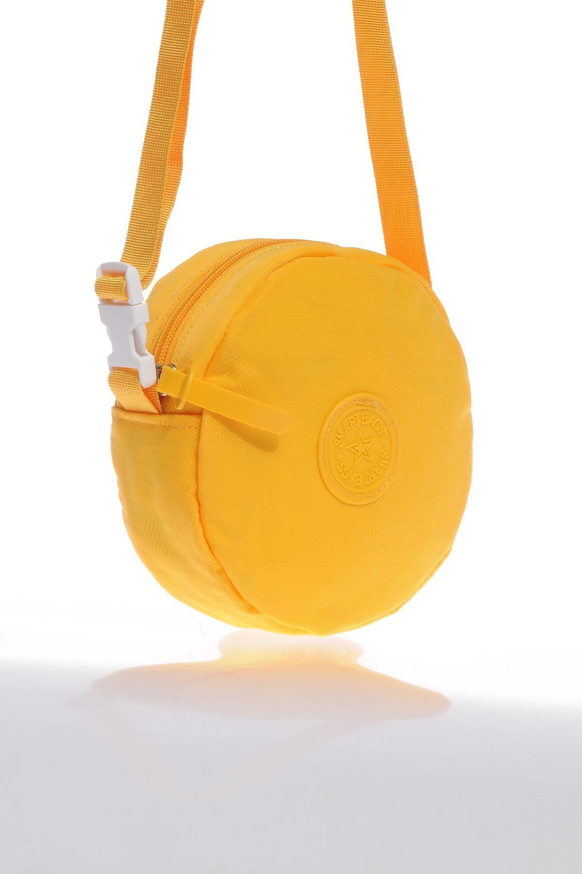 SMART BAGS Smb6001-0025 Sarı Kadın Minik Çapraz Çanta 2