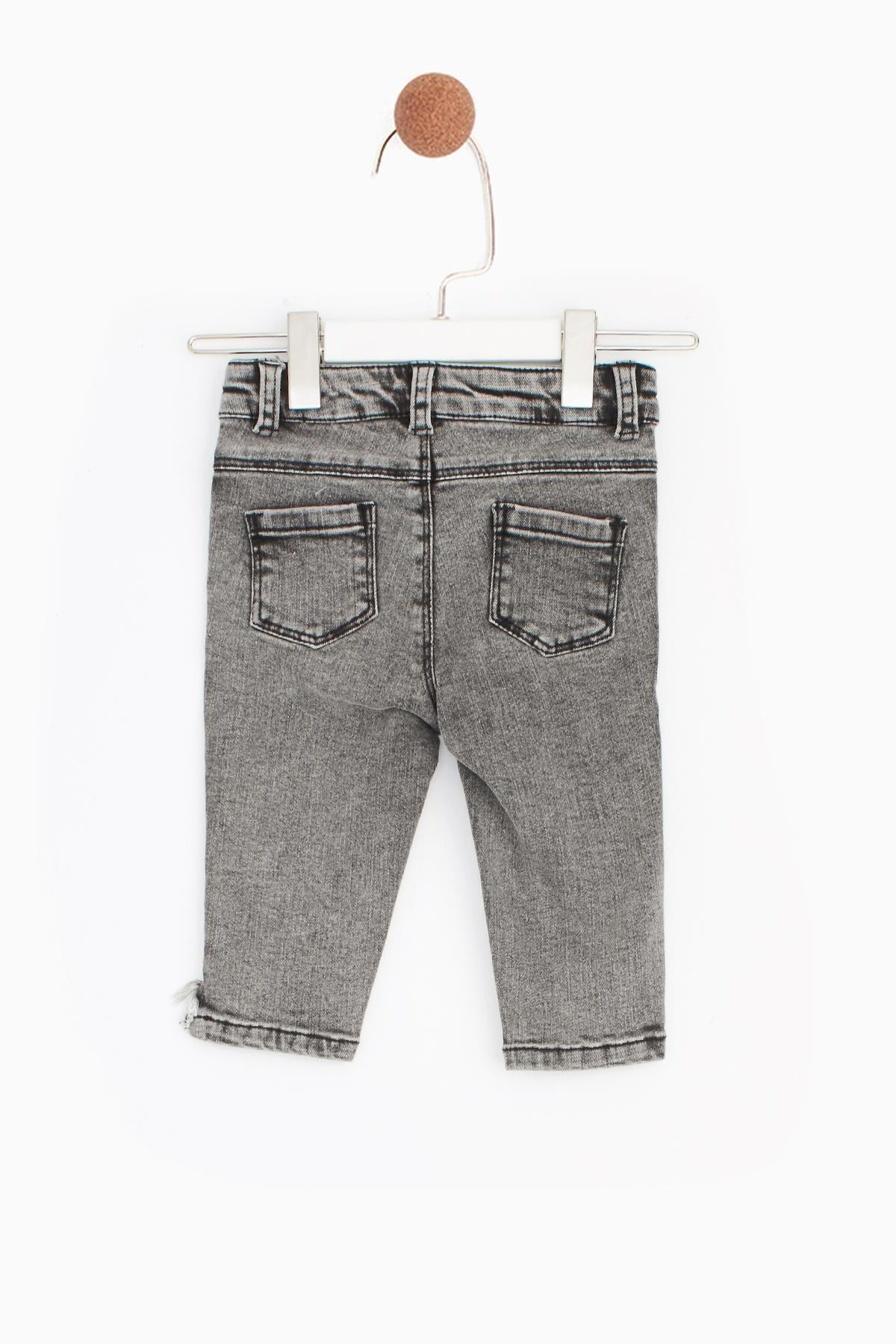 BG Baby Kız Bebek Antrasit Pantolon 2