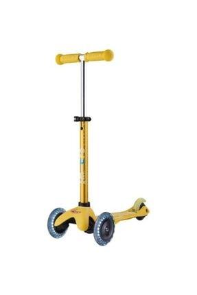 Micro Mini Deluxe Işıklı Sarı Scooter Mmd053