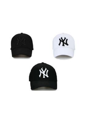 RD EKOAVM Unisex 3'li Set Şapka Siyah-beyaz