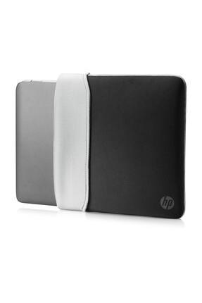 """HP 2uf61aa 14"""" Neopren Çevrilebilir Notebook Kılıf Siyah/gümüş"""