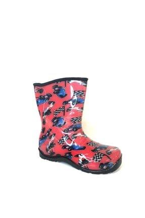 Flubber Yarış Yağmur Çizmesi Erkek Kırmızı