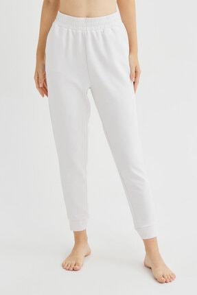 Penti Beyaz Cupro Pantolon