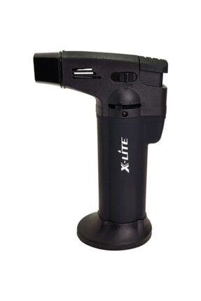 X-Lite 1300 C Büyük Boy Masa Tipi Pürmüz Alev Çakmak Siyah