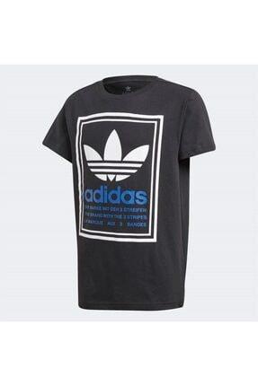 adidas Erkek Çocuk Siyah Graphıc Tee T-Shirt
