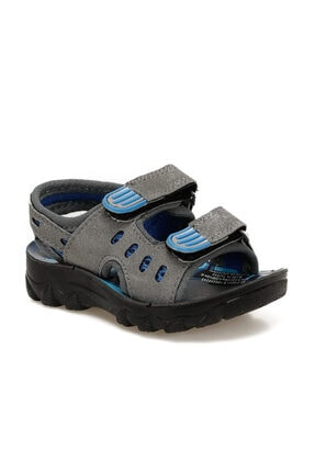 Polaris 91.510241.B Gri Erkek Çocuk Sandalet 100500245