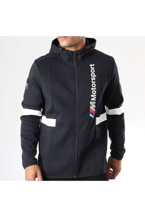 Puma Bmw Mms Hooded Jacket Anthracite 576652 01