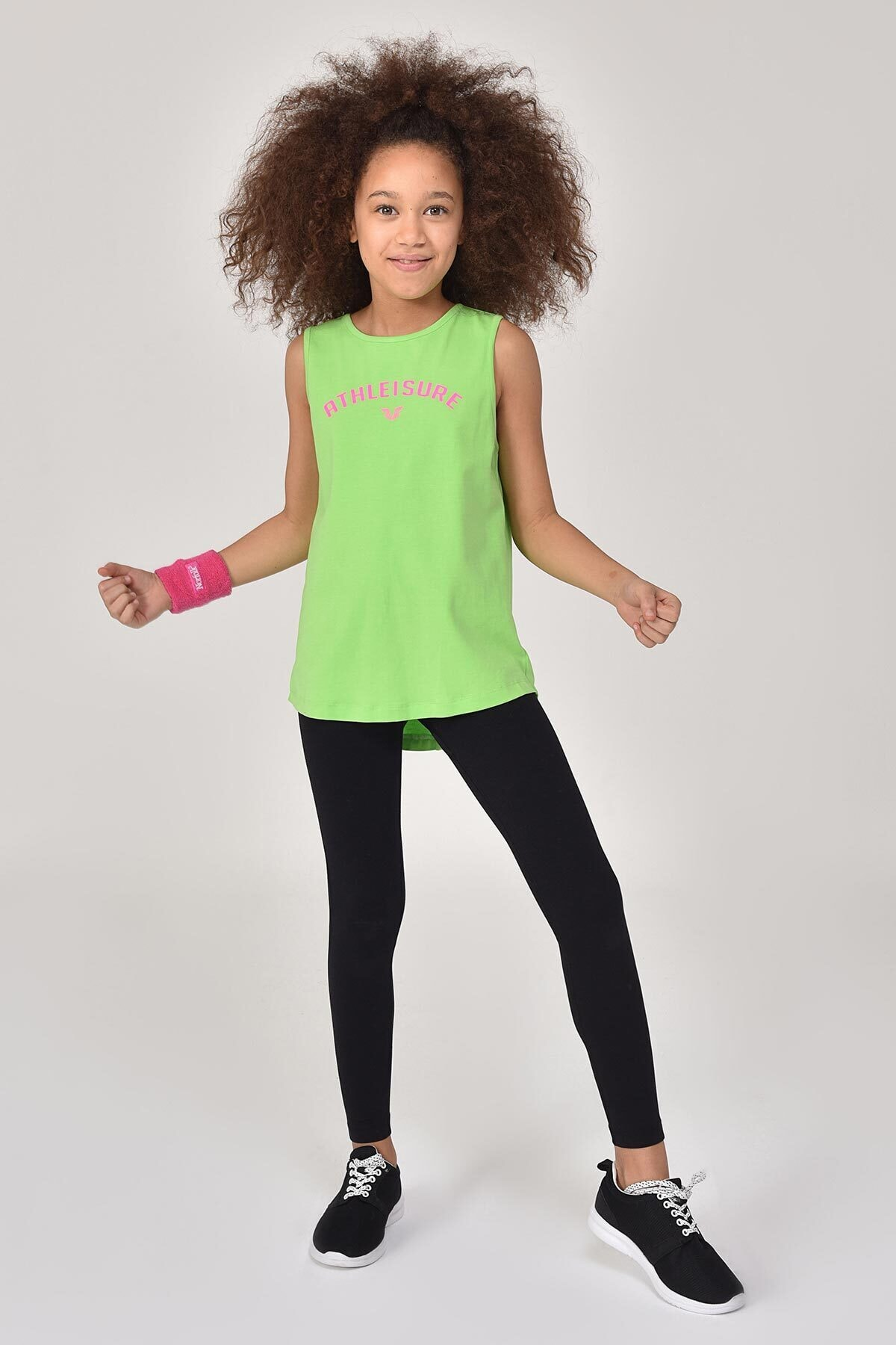 bilcee A.yeşil Kız Çocuk Atlet Gs-8172 1