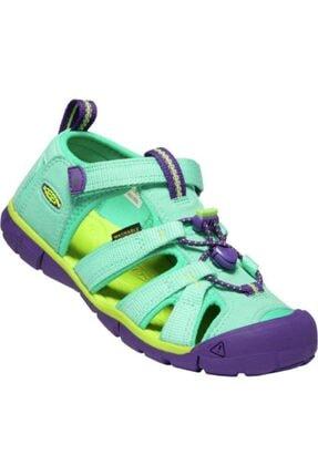 Keen Seacamp Iı Cnx Çocuk Sandalet Yeşil/mor