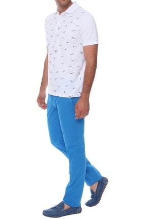 Efor P 969 Slim Fit Havacı Mavi Spor Pantolon
