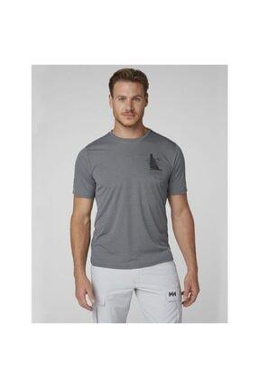 Helly Hansen Hp Circumnavigation Erkek T-shirt Gri