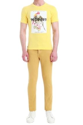 Efor 037 Slim Fit Hardal Jean Pantolon