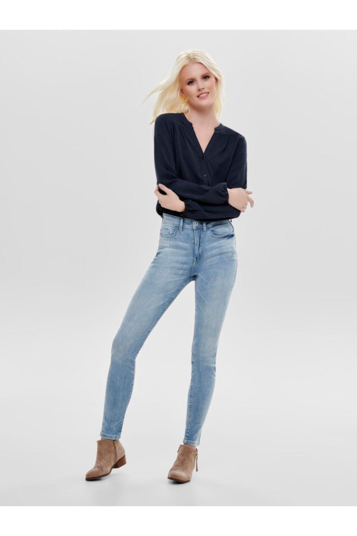 Only Kadın Jdy Jona Skınny High Light Blue Jean Pantolon 15171481 1