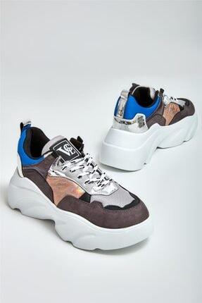 Bambi Gri Kadın Sneaker K0601341922