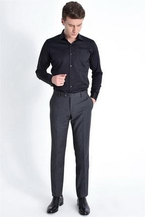 Efor P 1016 Slim Fit Gri Klasik Pantolon