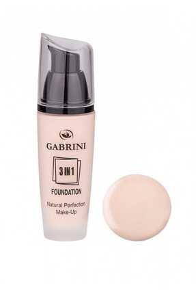 Gabrini Fondöten - 3 In 1 Glass Foundation 01 8696814063816