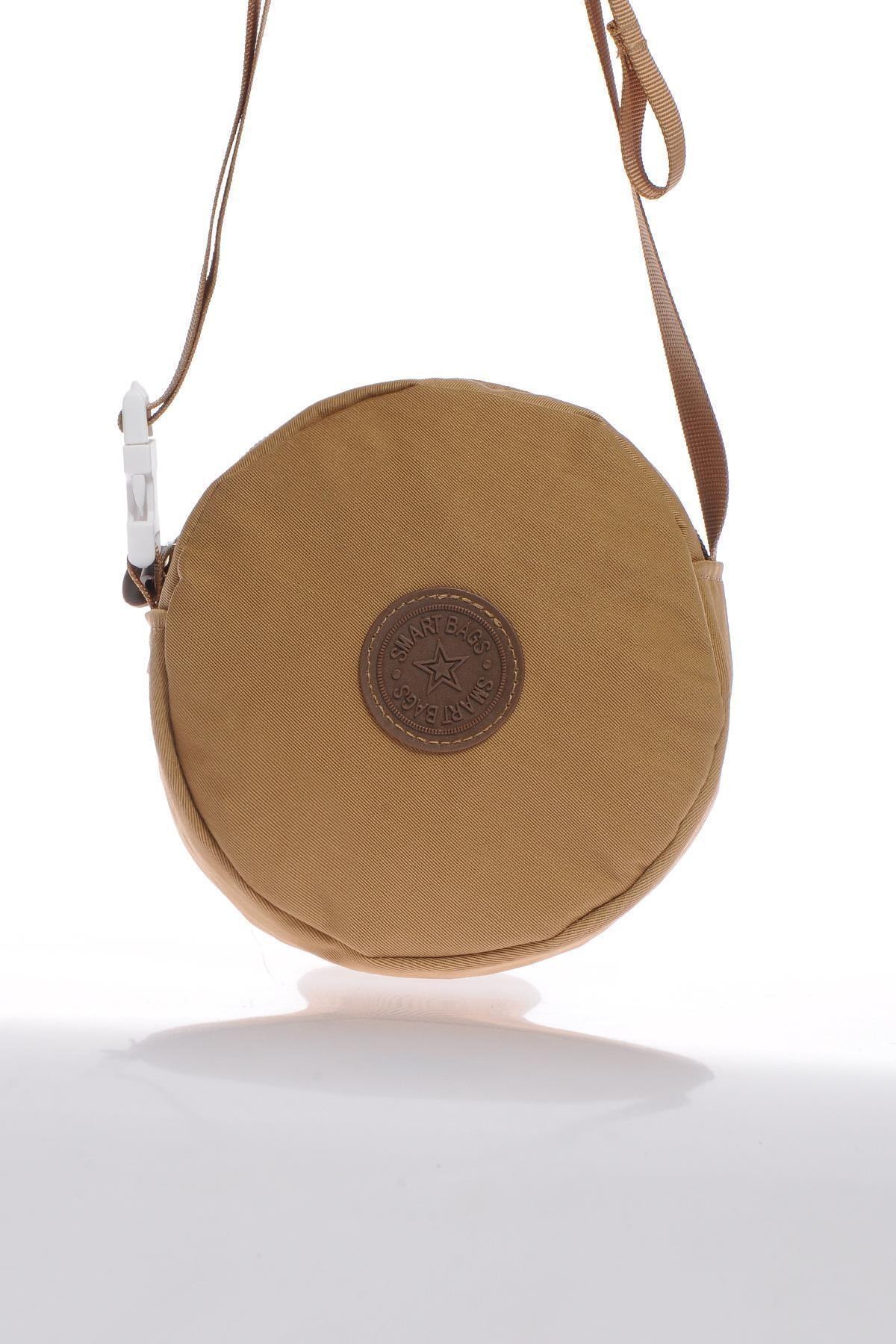 SMART BAGS Smb6001-0110 Taba Kadın Minik Çapraz Çanta 1