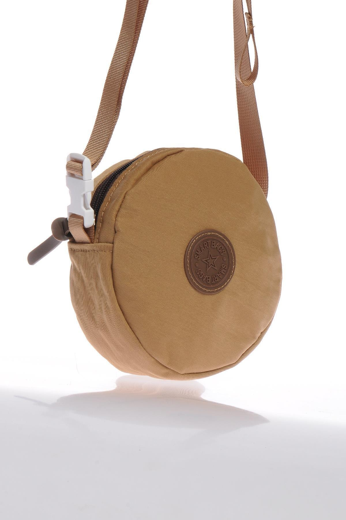 SMART BAGS Smb6001-0110 Taba Kadın Minik Çapraz Çanta 2