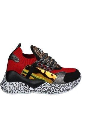 MP Ewoll 1045 Kırmızı Kadın Sneakers