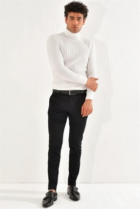 Efor P 1070 Skınny Siyah Spor Pantolon