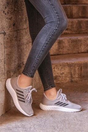 FAST STEP Gri Kadın Sneaker Ayakkabı 930zafs4