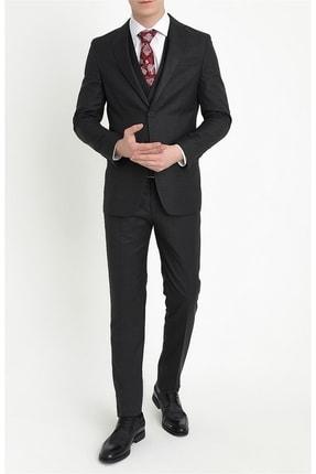 Efor Tk 782 Slim Fit Siyah Klasik Takım Elbise