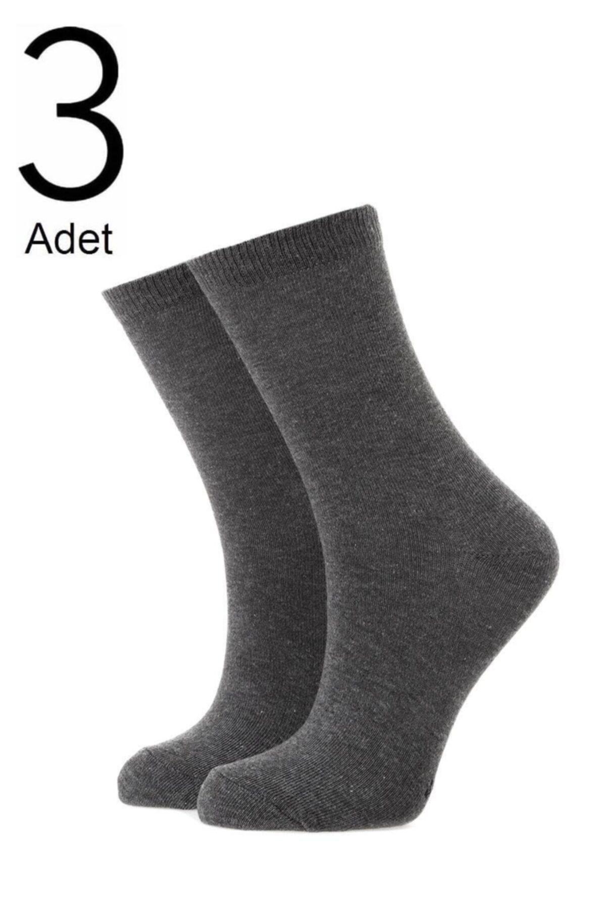ORBİS 3'lü Kadın Düz Çorap 3450-a3 1