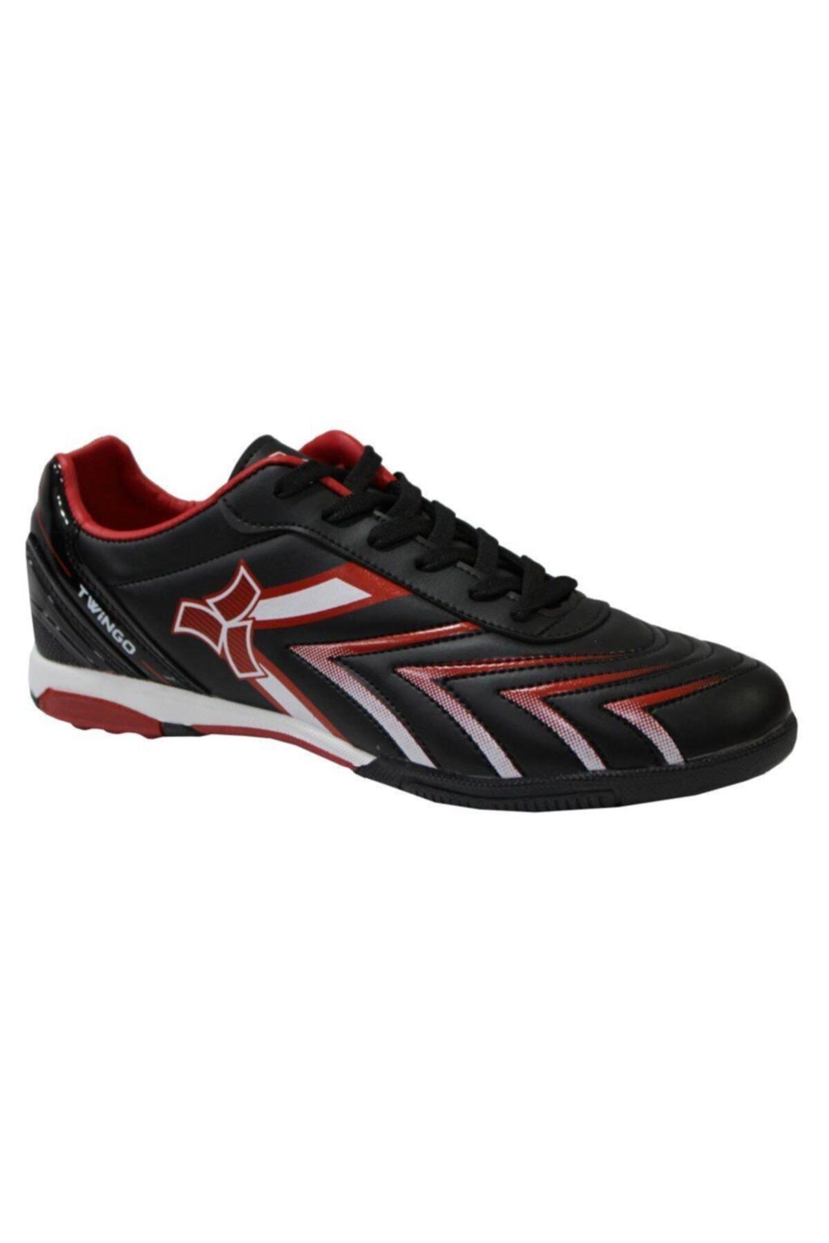 Twingo 0270 Siyah-kırmızı Halı Saha Erkek Futbol Ayakkabı 1