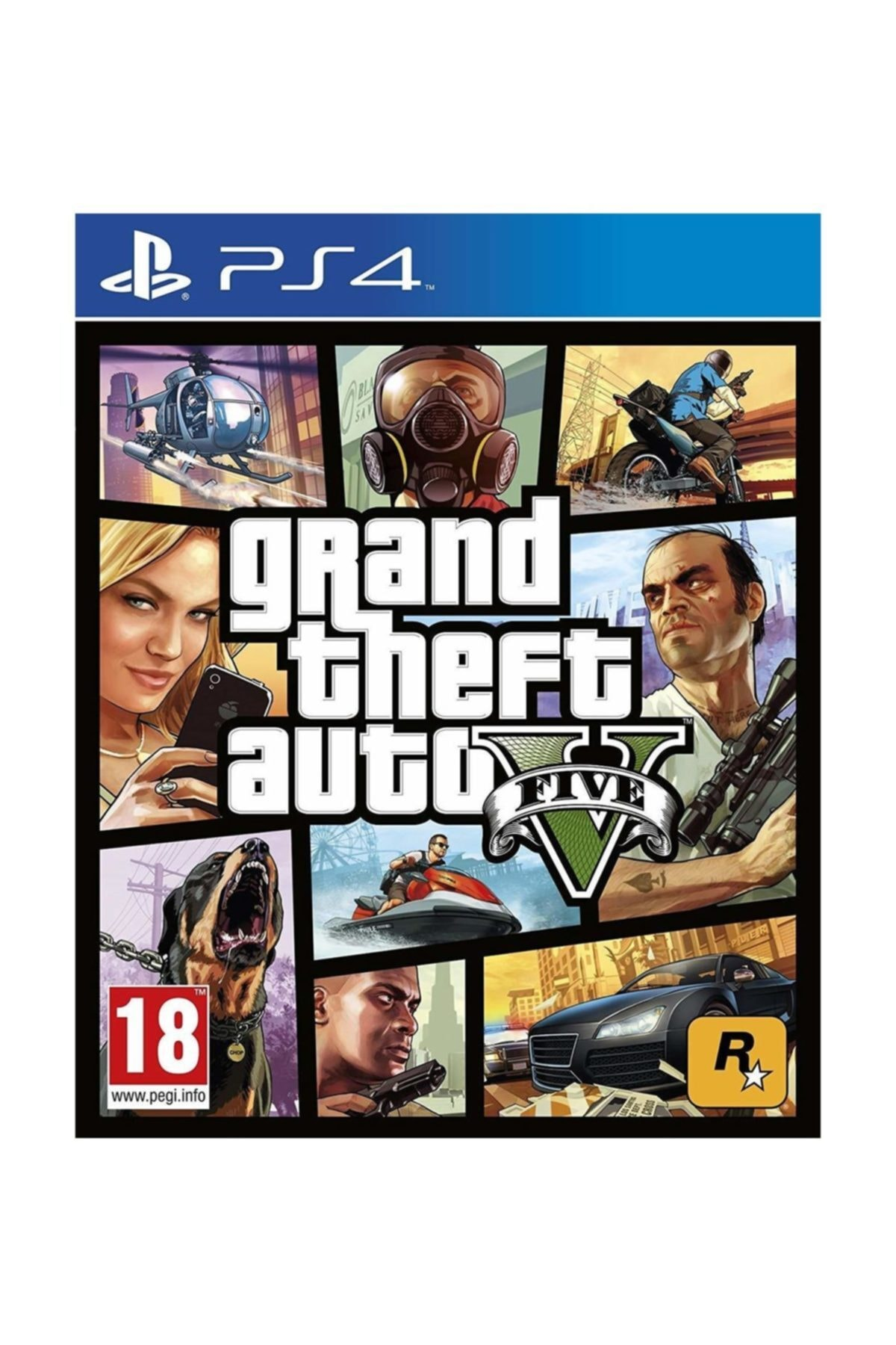 RockStar Games Grand Theft Auto 5 Ps4 Oyun 1