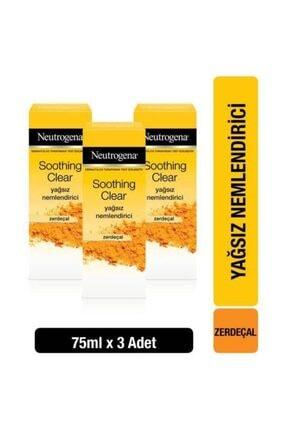 Neutrogena Soothing Clear Nemlendirici 75 ml x3