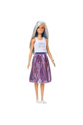 Barbie Fashionistas Koleksiyon Bebek Çılgın Saçlar Renkli Etekli