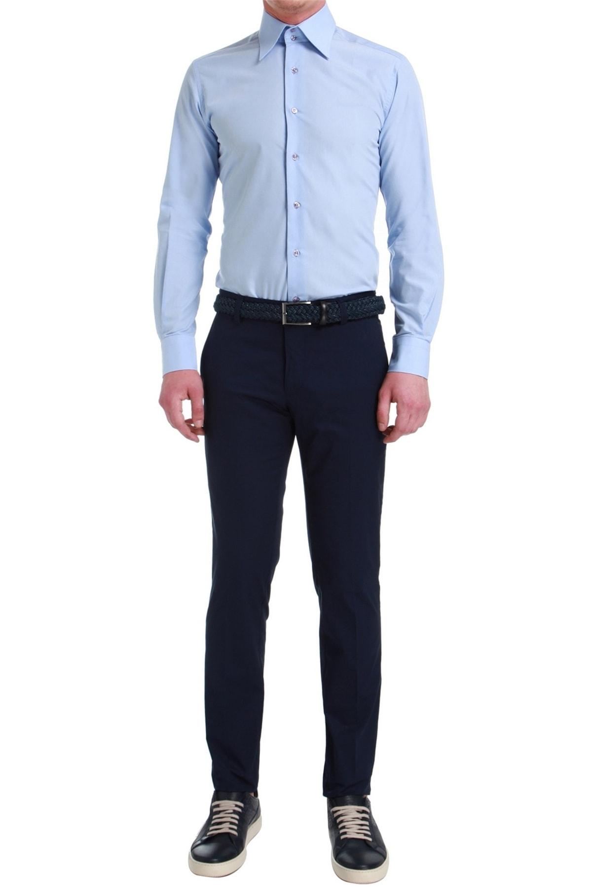 Efor P 1058 Slim Fit Lacivert Spor Pantolon 1
