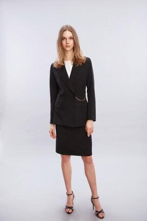 W Collection Beli Zincir Detaylı Ceket