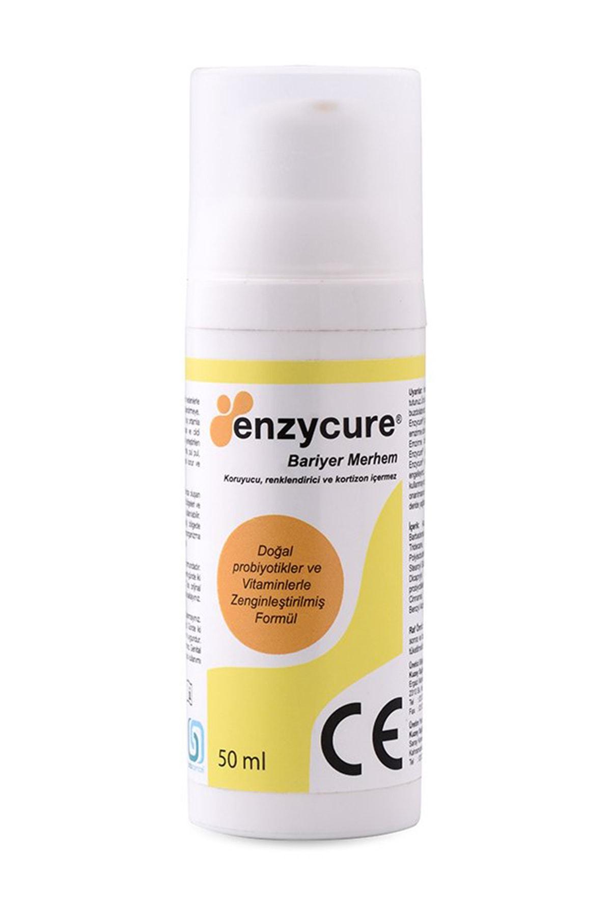 Enzycure Bariyer Krem 50 ml (Egzama Kremi - Yara Bakımı - Nemlendirici - Sedef Kremi) 2