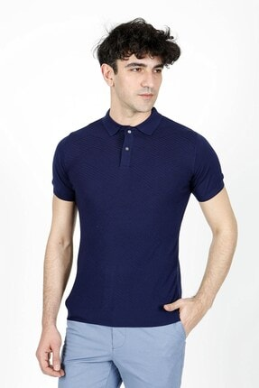 Jakamen Marin Slim Fit Polo Yaka Triko T-shirt