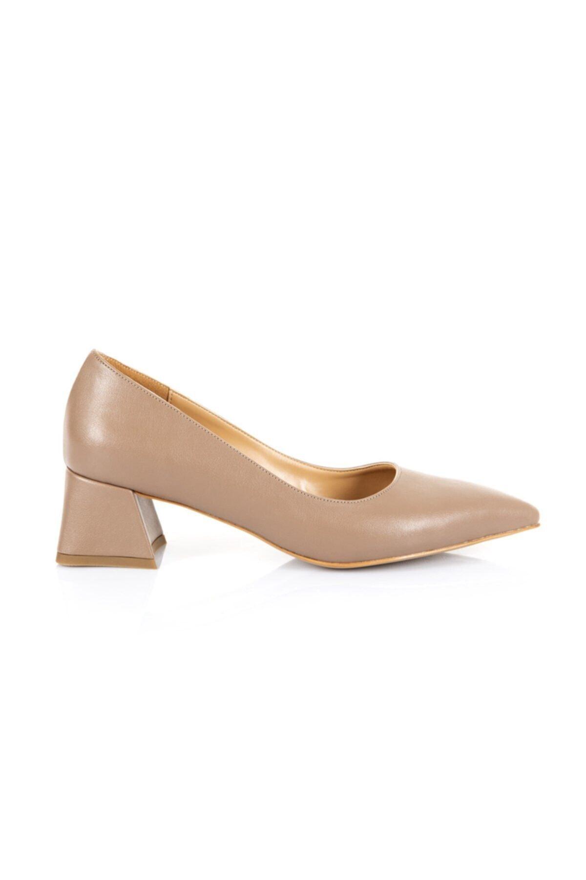 Oblavion Garcia Nude Topuklu Ayakkabı 1
