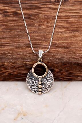 Sümer Telkari Hero Antik Tasarım Elişi Gümüş Kolye 6541