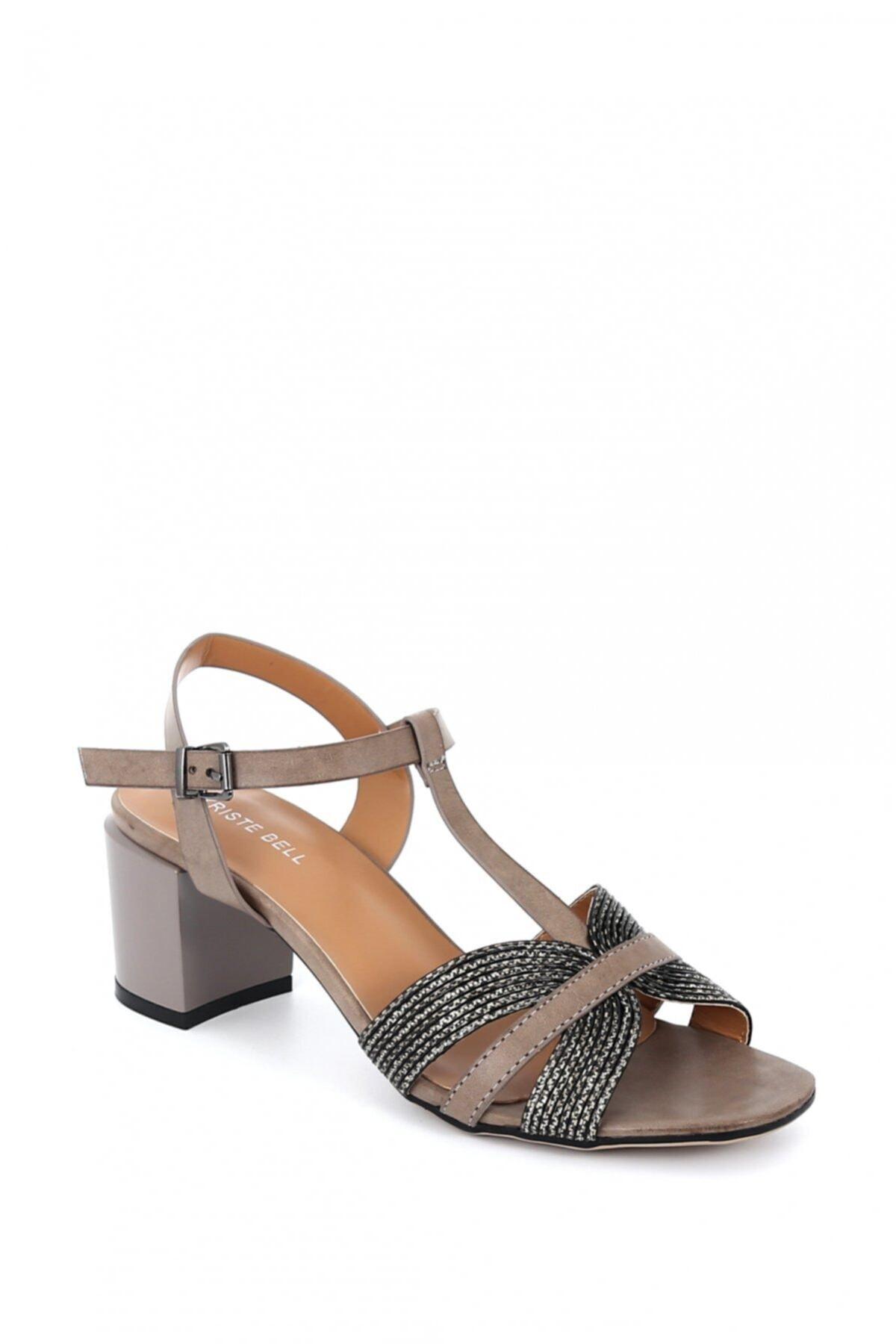 Hayati Arman Kadın Deri Kısa Topuklu Ayakkabı 1