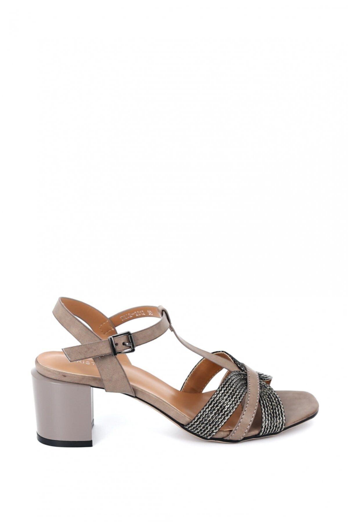 Hayati Arman Kadın Deri Kısa Topuklu Ayakkabı 2