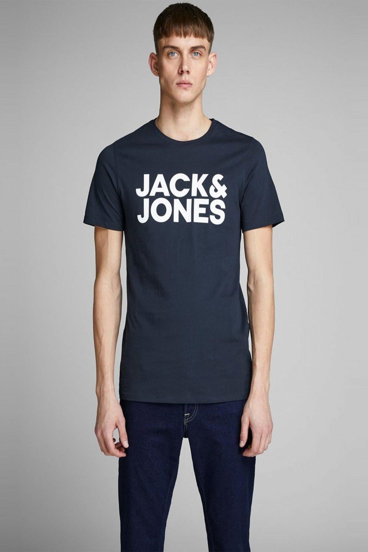 Jack & Jones Jack Jones Jjecorp Logo Tişört 12151955 1
