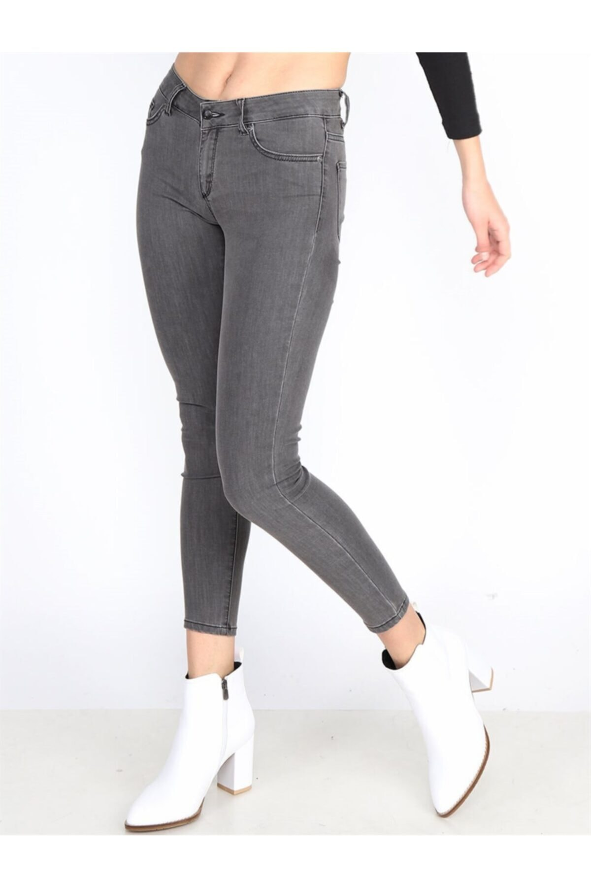 Twister Jeans Kadın Slim Fit Orta Bel Pantolon Lıma 9046-17 C 17 2