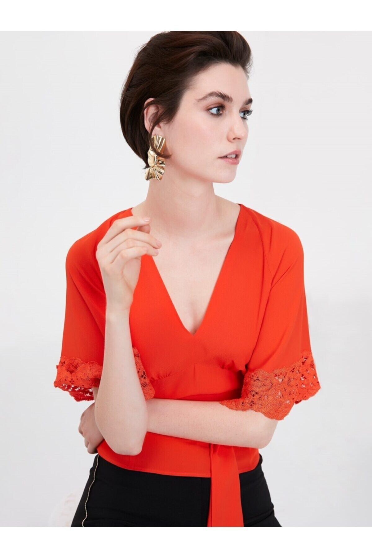 İpekyol Kadın Bluz - Turuncu 1