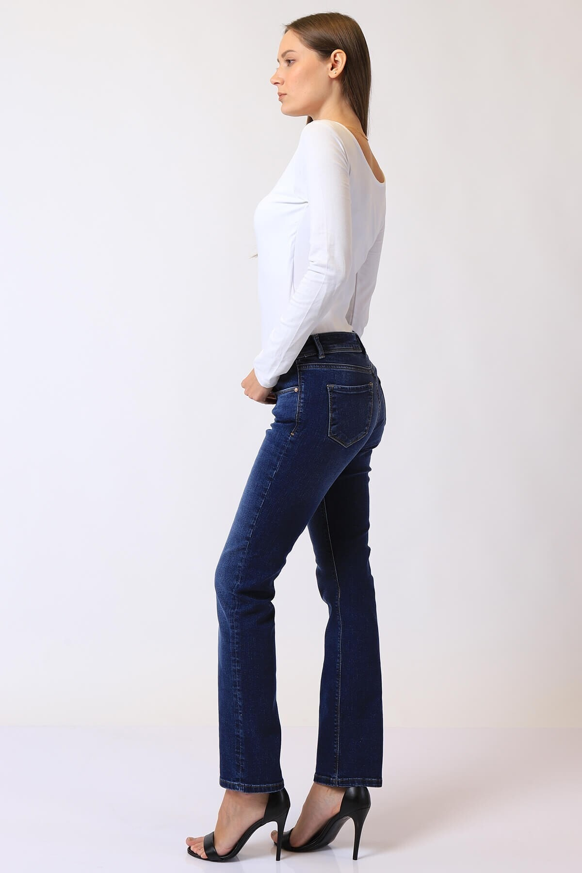 Twister Jeans Kadın Slim Fit Düşük Bel Pantolon Suzy 9001-24 (T) 24 2