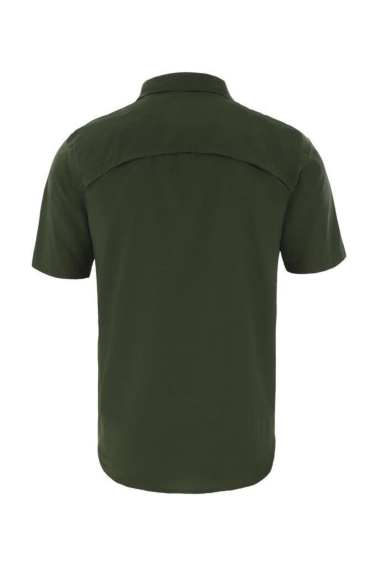 THE NORTH FACE S/s Sequoıa Kısa Kollu Erkek Gömlek Yeşil 2