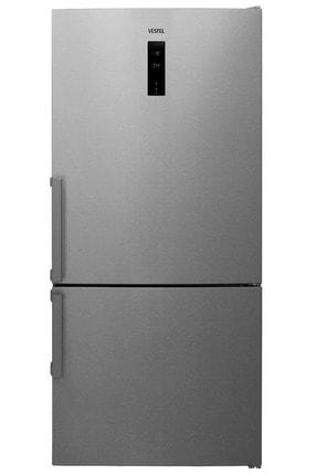 Vestel NFK6402 EX A+++ GI WIFI 640 Lt No-Frost Kombi Inox Buzdolabı