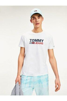 Tommy Hilfiger Erkek Tj Corporate Logo T-shirt