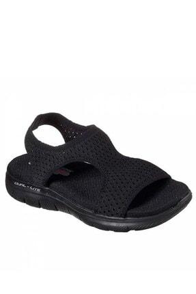 SKECHERS FLEX APPEAL 2.0 - DEJA VU Kadın Siyah Sandalet