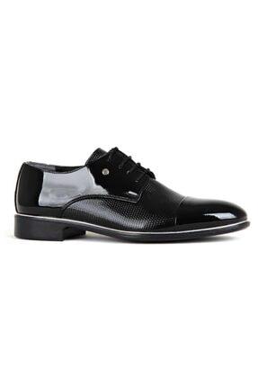 TAMBOĞA AYAKKABI Tamboga N573-1 Damatlık (39-44) Rugan Klasik Erkek Ayakkabı