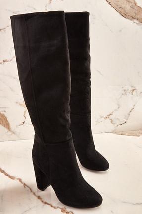 Bambi Siyah Kadın Çizme K06391130