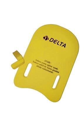 Delta Sarı Yüzme Tahtası ( Yüzücü Eğitim Tahtası ) - Kickboard